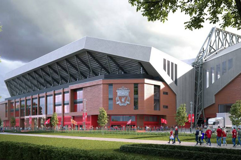 Green light for Anfield Road Stand expansion image
