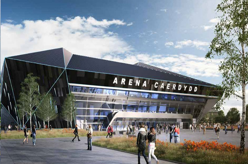Team picked to build new Cardiff arena image