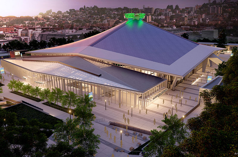Climate Pledge Arena opens its doors image
