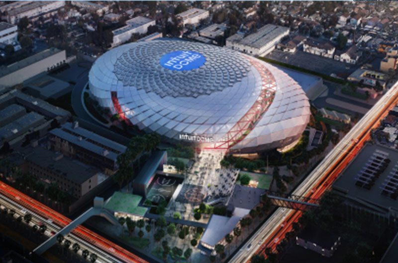 LA Clippers' new home will be Intuit Dome image