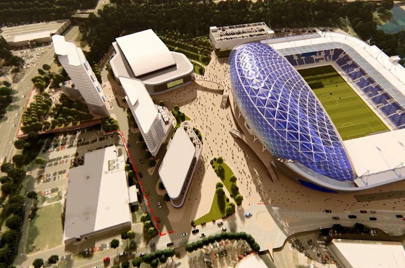 King Power Stadium expansion plans submitted image