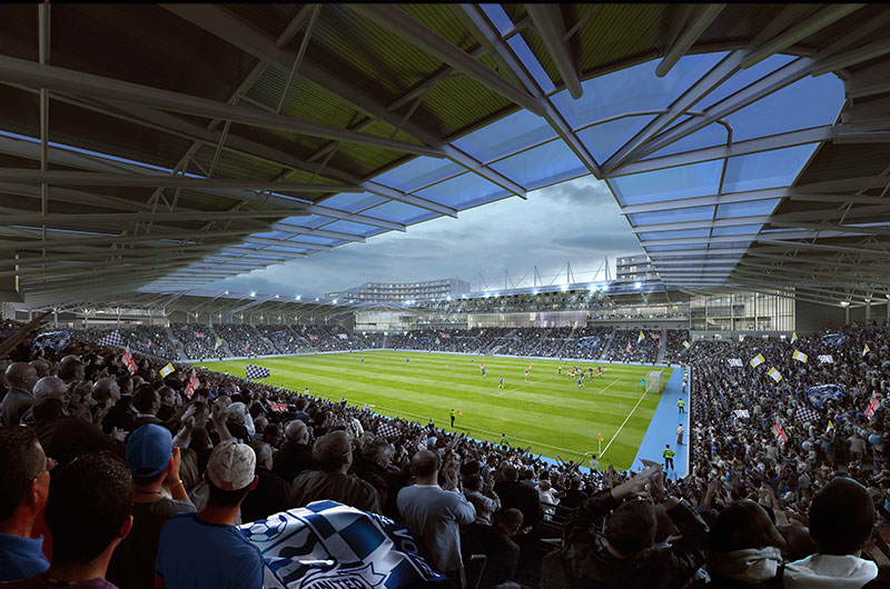 Green light for new Southend United stadium image