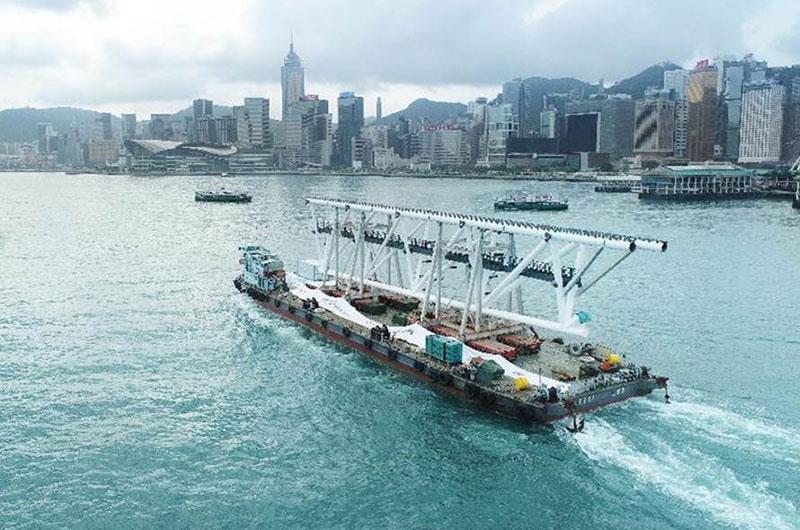 Construction gathers pace at Kai Tak Sports Park