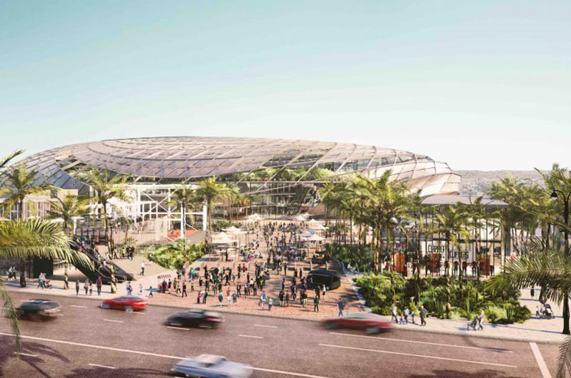 Construction starting on LA Clippers' new arena