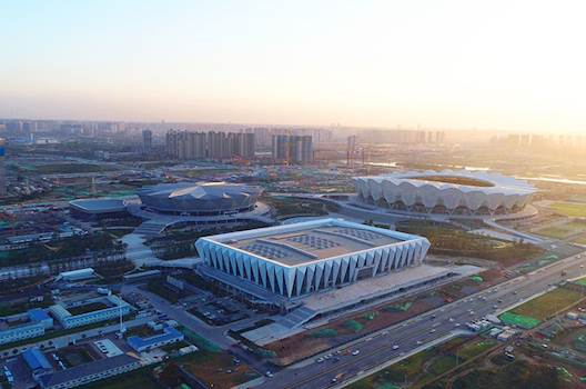 Xi'an Olympic complex pumps up the volume