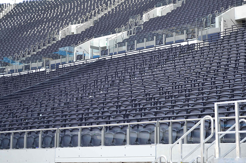 Six English clubs apply for safe standing trials