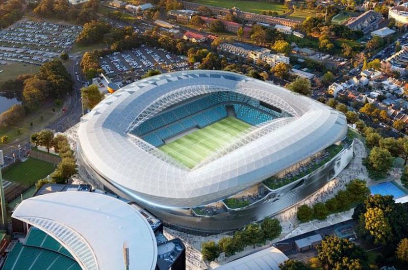 NEC Australia to light up Sydney Football Stadium